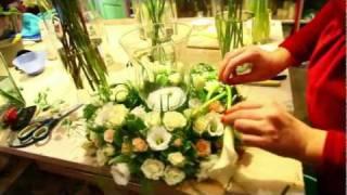 Подготовка к свадьбе в студии Букетио