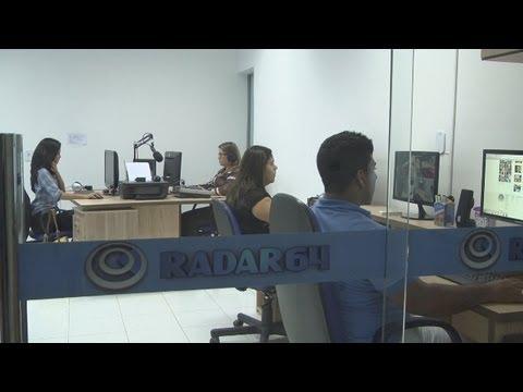 OS BASTIDORES DA NOTÍCIA: Portal RADAR 64 lança vídeo institucional