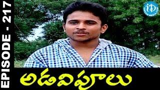 Adavipoolu    Episode 217    Telugu Daily Serial - IDREAMMOVIES