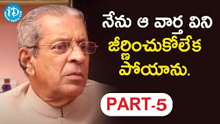 Professor Anil Kumar Exclusive Interview Part #5 || Koffee With Yamuna Kishore - IDREAMMOVIES