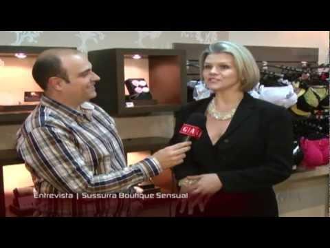 Programa Gente e Atitudes   Entrevista   Sussurra Boutique Sensual
