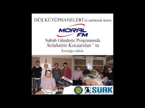 Bahadır KAYA arkadaşlarıyla Moral FM' de Düş Kütüphaneleri' ni Anlatıyor.