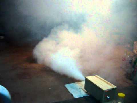 maquina de humo casera