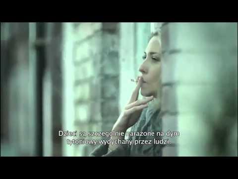 Spot norweskiej kampanii społecznej przeciwko biernemu paleniu