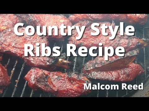 Country Style Ribs | How To Smoke Country Ribs Recipe