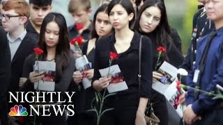 Students Head To Florida State Capitol To Meet Lawmakers And Protest | NBC Nightly News - NBCNEWS