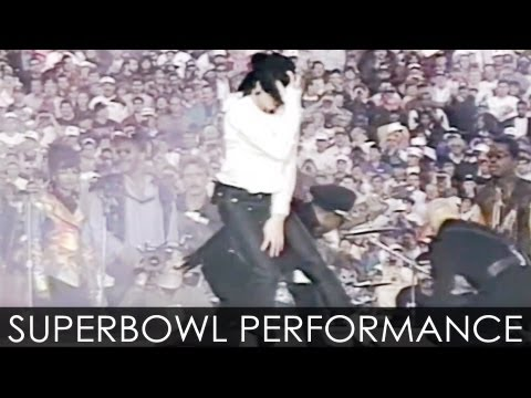 Michael Jackson live at SuperBowl 1993 - Enhanced - HD