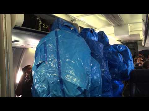 Bromeó que sufría ébola y desató pánico en pleno vuelo