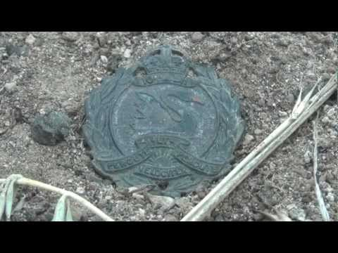 GALLIPOLI VETERAN'S 10th Light Horse Collar Badge - My Metal Detecting Find of a Lifetime - Part 1
