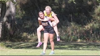 High School Runner Carries Injured Competitor - ABCNEWS