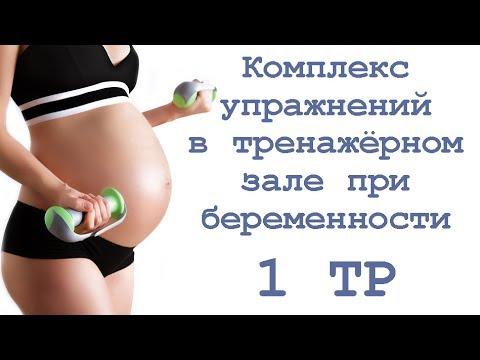 Программа тренировок в спортзале для беременных 64