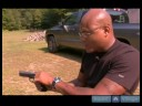 9mm Hand Gun Operation & Safety : How To Unload A Handgun