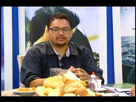 TV Costa Norte - Café com Adilson Cabral - sec. interino de Meio Ambiente de Guarujá
