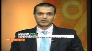 Political Capital- June 2015 Sensex Target At 28800: Ridham Desai - BLOOMBERGUTV