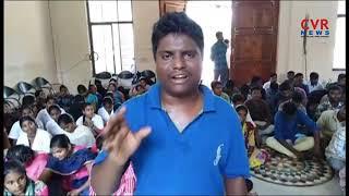 Students Protest At Telangana University | CVR News - CVRNEWSOFFICIAL