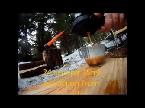 Glamping avec Handpresso