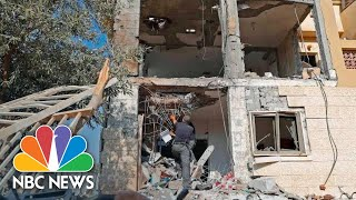 Palestinian Militant Rocket Hits House In Southern Israel | NBC News - NBCNEWS