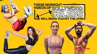 Bollywood Celebrities' workout that will make you hit the gym | Malaika, Hrithik, Shilpa, Janhvi - ZOOMDEKHO