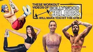 Bollywood Celebrities' workout that will make you hit the gym | Malaika, Hrithik, Shilpa, Janhvi - ZOOMDEKHO