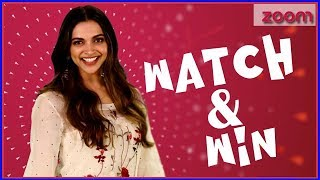 Deepika Padukone's Planet Bollywood Contest | Watch & Win - ZOOMDEKHO