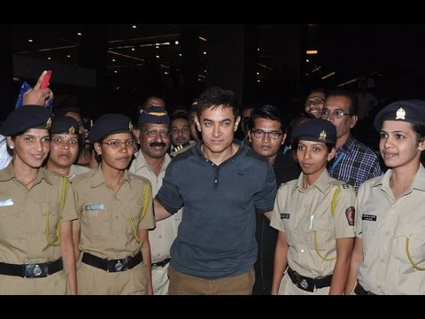 Special Screening Of 'PK' For Mumbai Police