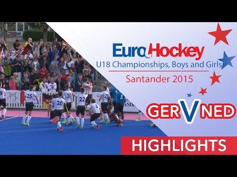 Germany v Netherlands - EuroHockey U18 Men