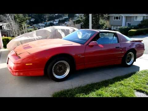 1987 Pontiac Trans Am GTA 5.7L V8 Cold Start