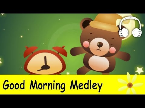 Muffin Songs – Good Morning Medley Are You Sleeping, Hello Song, Good Morning, This Is The Way