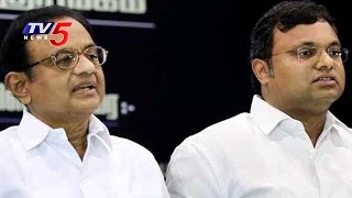 CBI Raid At P Chidambaram's Residence In Chennai | TV5 News - TV5NEWSCHANNEL