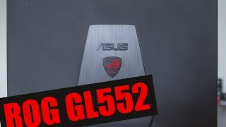 Игровой ноутбук Asus ROG GL552J - обзор от zaddrot.com