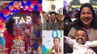 Radhika Sarathkumar Grandson Tarak Birthday Celebration | Rayane Mithun Son - RAJSHRITELUGU