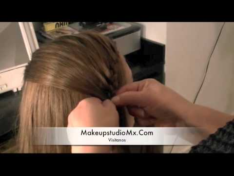 Video Tutorial Trenza estilo Belinda