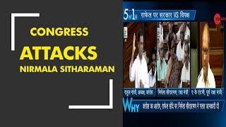 5W1H: Ex-Defence Minister AK Antony attacks Nirmala Sitharaman over Rafale deal - ZEENEWS
