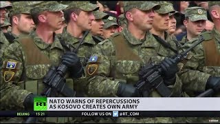 US supports Kosovo's creation of army, NATO warns of repercussions - RUSSIATODAY