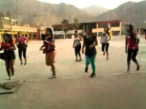 Ensayando con Pasion Peru 1er saludo.