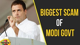 "Rahul Gandhi Termed the Demonetisation as the ""Biggest Scam"" of Modi Government 