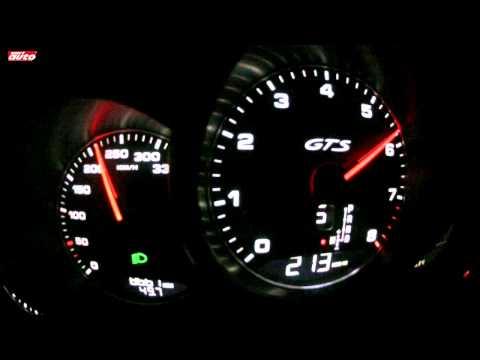Panamera GTS 0-310 km/h Launch Control Revs Test New Porsche 2012 sport auto