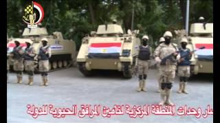 بالفيديو .. انتشار مكثف لقوات الجيش والمركبات العسكرية بالأماكن الحيوية وأمام المنشآت الهامة