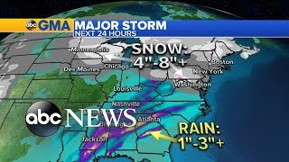Major winter storm on the move - ABCNEWS
