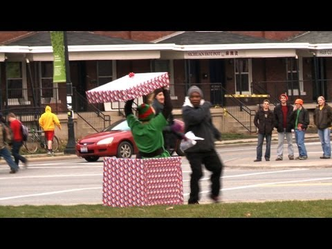 Christmas Elf Prank - Scares and Cares