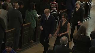 Prince Harry, Meghan Attend Memorial Service for Stephen Lawrence - VOAVIDEO