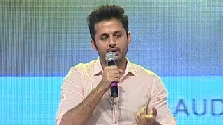 Nithiin Talks About Pawan Kalyan @ A Aa Audio Launch - IGTELUGU