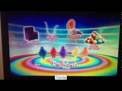 Boohbah Magic DVD Menu Walkthrough