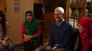 Apple's Tim Cook and Malala team up to fight for girls' education - ABCNEWS