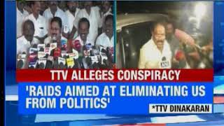 TN CM speaks on I-T raids on Jaya's residence; says state govt has no connection with raids - NEWSXLIVE