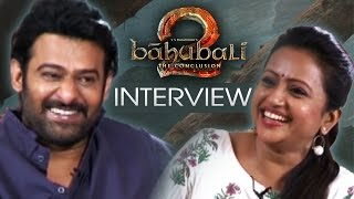 Anchor Suma Fun Chit Chat With Prabhas About Baahubali 2 | Fun Interview | TFPC - TFPC