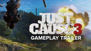 عرض اللعب الأول ل Just Cause 3 مليء بالإنفجارات والفوضى