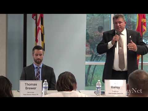 Oct. 2 Candidate Forum: Jack Bailey, Thomas Brewer