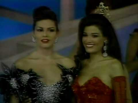 Miss Colombia 1992 - Crowning Moment