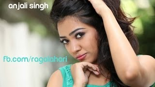 Anjali SIngh Green Dress show0 - RAGALAHARIPHOTOSHOOT